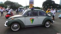 VW Kodok ini tempuh Aceh-Bandung. (ist)
