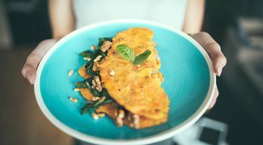Ilustrasi omelet