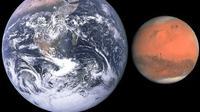 Planet Mars mendekati Bumi. (Foto: askanastronomer.org)