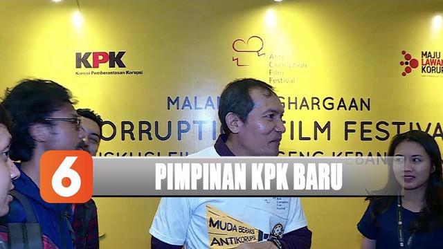 Wakil Ketua KPK Saut Situmorang memberikan pesan untuk pimpinan KPK yang akan dilantik.