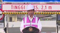 Presiden Jokowi resmikan enam ruas Jalan Tol Dalam Kota Jakarta, segmen Kelapa Gading-Pulo Gebang. (Sumber: Youtube Sekretariat Presiden)