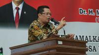 Wakil Ketua MPR RI, Mahyudin menghimbau para calon kepala daerah dan calon anggota legislatif untuk menghentikan budaya money politik.