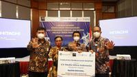 LPEI memberikan pembiayaan kepada pelaku UKM asal Pasuruan, Jawa Timur (dok:LPEI)