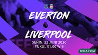 Premier League - Everton vs Liverpool. (Bola.com/Dody Iryawan)