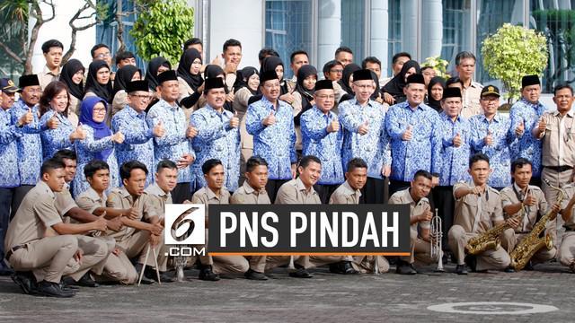 Pemindahan ibu kota akan diikuti pemindahan PNS. Kepala BKN Bima Haria Wibisana ungkap kementerian yang harus pindah.