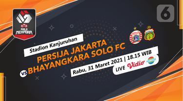 Prediksi Persija Jakarta vs Bhayangkara Solo FC