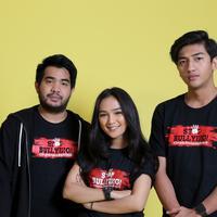 Media visit pemain film Stop Bullying (Daniel Kampua/bintang.com)