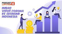 PODCAST Bisnis: Imbas Virus Corona ke Ekonomi Indonesia
