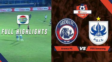 Berita video highlights Shopee Liga 1 2019 antara Arema FC melawan PSIS Semarang yang berakhir dengan skor 1-1, Sabtu (31/8/2019).