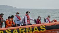 Menteri Perhubungan (Menhub) Budi Karya Sumadi mengunjungi Pulau Lancang, Kepulauan Seribu. Dok Kemenhub