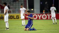 Paspor Indonesia palsu yang dimiliki striker Al Nasr, Wanderley Santos, membuat pengawasan terhadap pemain dan pelatih asing di Indonesia makin ketat. (AFP/Karim Jaafar)