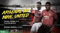 Premier League: Arsenal vs Manchester United.. (Bola.com/Dody Iryawan)