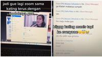 Cerita Wanita Salah Kirim Pesan di Zoom Ini Bikin Malu. (Sumber: TikTok/ @ovvaltine)