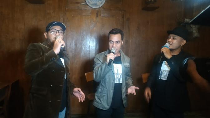 Trio vokal PRIA memilih Yogyakarta sebagai lokasi syuting video klip untuk rilis ketiga mereka (Liputan6.com/ Switzy Sabandar)