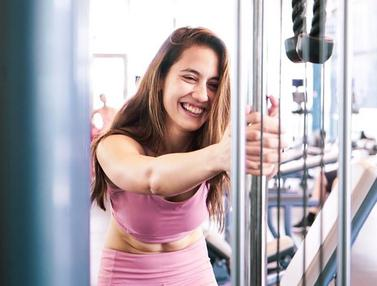 Potret Pevita Pearce Saat Melakukan Fitnes, Makin Cantik dan Mempesona