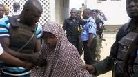 Gadis 13 tahun bomber Boko Haram (AFP)