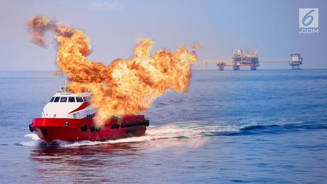 Kapal Terbakar Dan Kapal Meledak