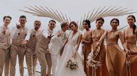 Kim Kurniawan dan Elisabeth Novia menikah (Sumber: Instagram/nadiadesvianti)