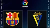 La Liga - Barcelona Vs Cadiz (Bola.com/Adreanus Titus)
