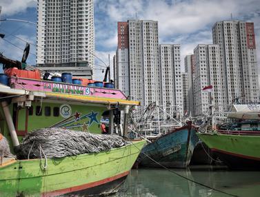 Cuaca Buruk, Nelayan Muara Angke Libur Melaut
