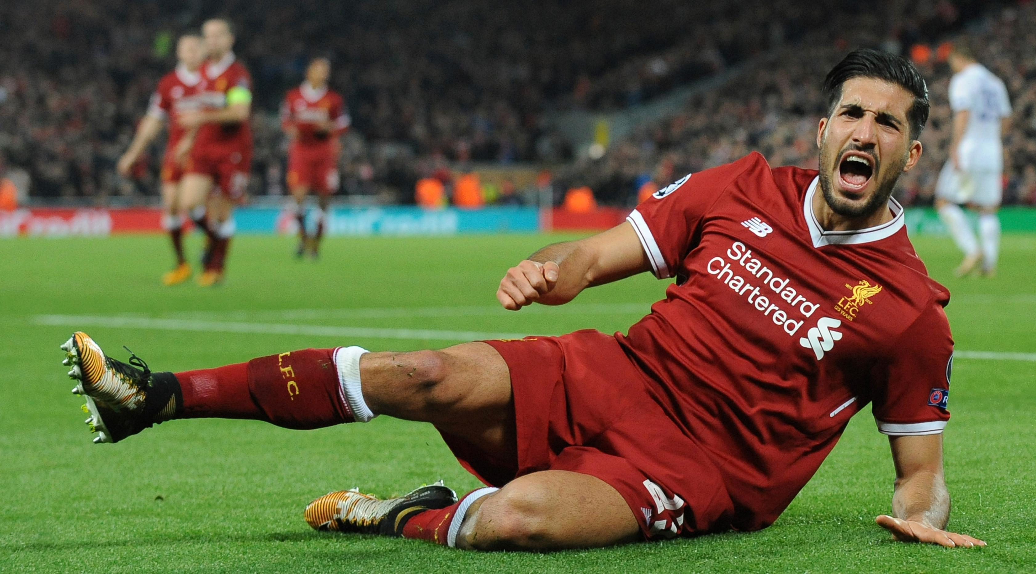 Pemain Liverpool, Emre Can (AP/Rui Vieira)