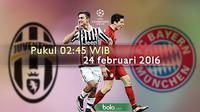 Juventus vs Bayern Munchen (Bola.com/Samsul Hadi)