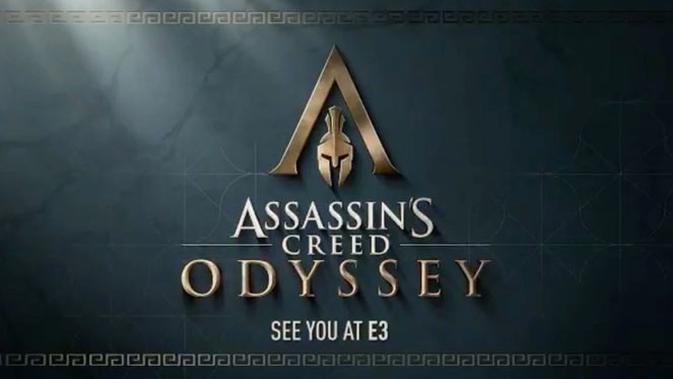 Ubisoft ungkap trailer singkat Assassin's Creed Odyssey jelang E3 2018. (Doc: Ubisoft)