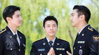 Changmin TVXQ, Choi Siwon dan Donghae Super Junior tengah menjalani wajib militer. (Instagram)
