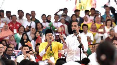 Cerita Jokowi saat Harus Menembus Ribuan Warga Asahan yang Menyambutnya