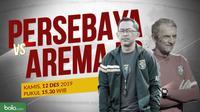 Shopee Liga 1 2019: Persebaya Surabaya vs Arema FC. (Bola.com/Dody Iryawan)