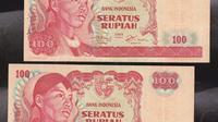Rp 100 Tahun Emisi 1968