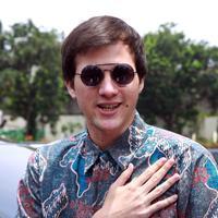 Stuart Collin saat di Pengadilan Agama Jakarta Selatan, Kamis (28/1). (Deki Prayoga/Bintang.com)