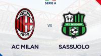Serie A - AC Milan Vs Sassuolo (Bola.com/Adreanus Titus)