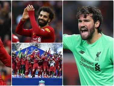 6 Bintang Liverpool saat Meraih Trofi Juara Liga Champions 2018/2019