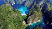 Ko Phi Phi, sebuah kepulauan kecil di Provinsi Krabi, Thailand. (Liputan6/Pinterest)