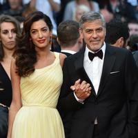 """""""Aku sangat bahagia lantaran akan segera menikah dan itu (kehamilan) sepertinya akan menjadi rencana kami selanjutnya,"""" tutur George Clooney beberapa waktu lalu. (AFP/ALBERTO PIZZOLI)"""