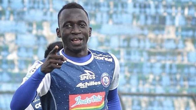 Gelandang Arema FC Makan Konate. (instagram.com/explore/tags/makankonate)