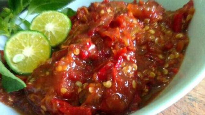 Resep Sambal Tomat Pedas Gurih Enaknya Bikin Nagih - Lifestyle