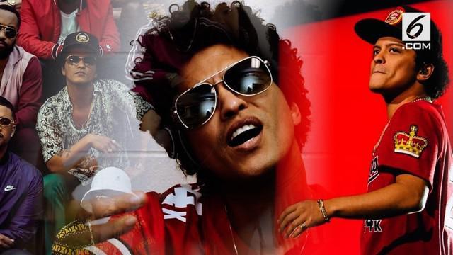 Bruno Mars berhasil membawa pulang 6 piala Grammy 2018.