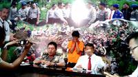 Aparat Ditres Narkoba Polda Bengkulu berhasil menangkap JR (20) tersangka kurir Tembakau Gorila (Liputan6.com/Yuliardi Hardjo)