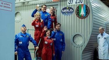 6 Astronot Rusia Dikunci di 'Pesawat' Selama 17 Hari, Buat Apa?