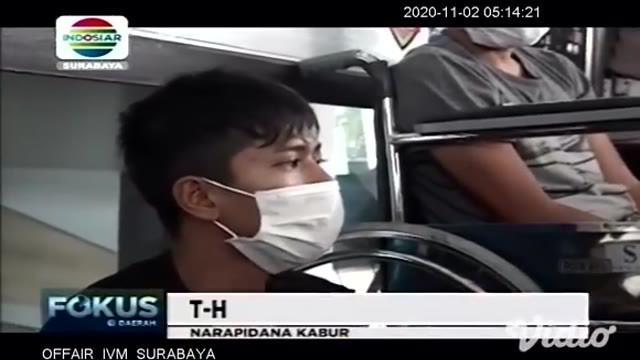Kedua napi yang sempat ini adalah TH (22) warga Kelurahan Klatak, Kalipuro, Banyuwangi, dan HT (44) warga Kecamatan Prigen, Pasuruan. Keduanya merupakan narapidana kasus narkoba, dan kasus pencurian sepeda motor disertai kekerasan.