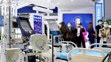 Beragam Teknologi Baru Pengendalian Epidemi Dipamerkan CIIE 2020