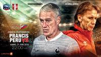 Prancis vs Peru (Liputan6.com/Abdillah)