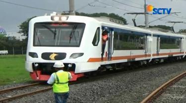PT Railink telah uji coba rangkaian kereta tanpa penumpang dan lokomotif melintas di atas lokasi longsor dengan beberapa variasi kecepaatan