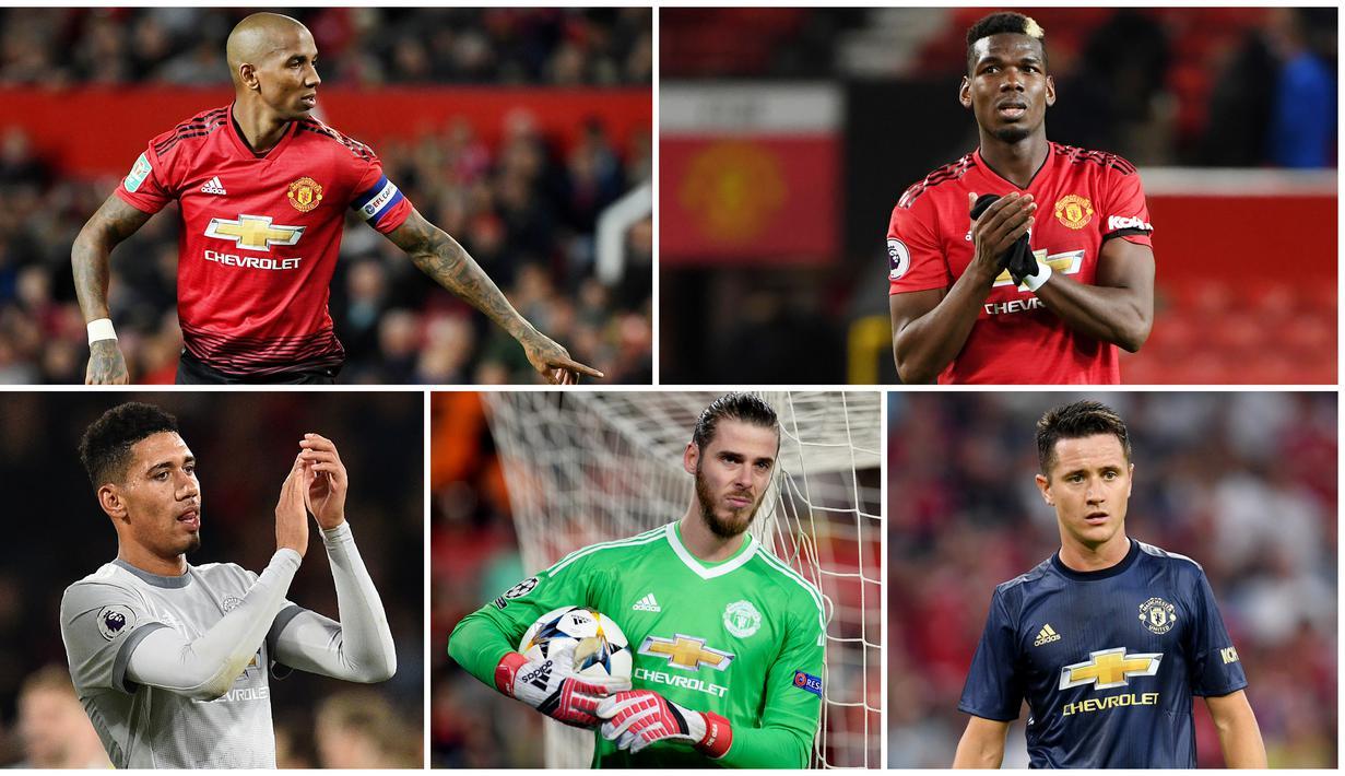 FOTO 5 Kandidat Terkuat Kapten Baru Manchester United