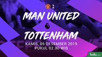 Premier League: Manchester United vs Tottenham Hotspur. (Bola.com/Dody Iryawan)