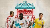 Liverpool - Perr Schuurs, Dayot Upamecano, Ben White (Bola.com/Adreanus Titus)