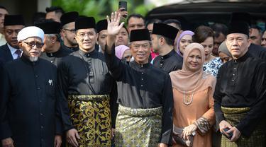 Muhyiddin Yassin Resmi Dilantik Menjadi PM Malaysia