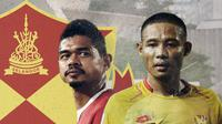 Bambang Pamungkas dan Evan Dimas. (Bola.com/Dody Iryawan)